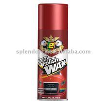 spray polish wax or spray protection or car wax polish