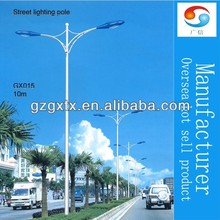high quality galvanized cheap street lighting pole 12m/lighting pole price