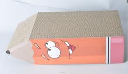 2015 New Lovely design cardboard cat Scratcher