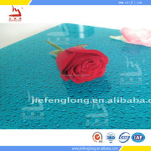 bathroom paneling construction meaterial thin plastic beautiful polycarbonate embossed sheet