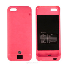 Protective waterproof cellphone external backup battery case cover for iphone 5