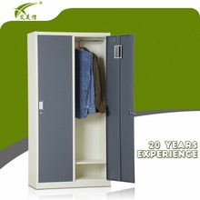 Steel storage cabinet metal bedroom cupboards design