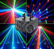 Wholesale 20W LED Double Butterfly light CREE LED, double deck led dj, club, KTV, bars stage beam light with amazing effect