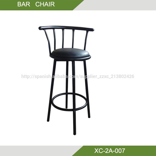 Silla bar barato taburete bar giratorio xc 2a 007 silla de metal identificaci n del producto - Taburete bar barato ...