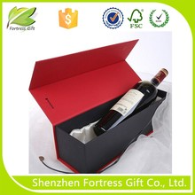 Dimension of carton cardboard wine packaging box