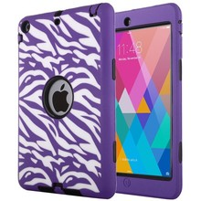 High Quality Smart Cover for iPad Mini ,Shockproof Case for iPad Mini 2, 3 in 1 Combo Case for iPad Mini 3
