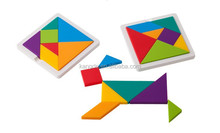 High Quality Silicone Tangram Puzzle, Hot Sale Silicone Toy for Kids