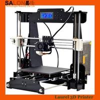 New Upgrade Factory Reprap Prusa I3 3D Printer 3 D Machine DIY KIT Acrylic Frame LCD Screen Optional