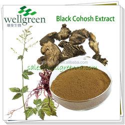 100% natural black cohosh extract/triterpenes glycosides/triterpene glycosides powder