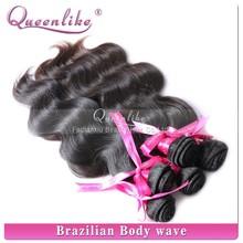 2015 new items Fadianxiu queenlike 100% virgin unprocessed virgin brazilian human hair