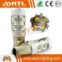 High power super bright flat/wave led auto light h1 h7 h4