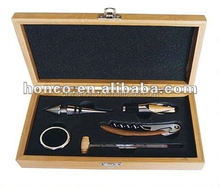 Wine Gift Set In Wooden Box/Bar set