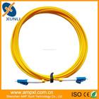 Fibra óptica Patch Cord LC para LC apertado Buffered cabo CM 3.0 mm modo único