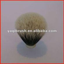 Silvertip badger hair knot for men shaving brush