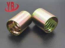 zhejiang machinery high pressure SAE hydraulic hose aluminum ferrule for hoses