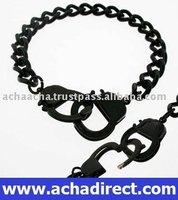 black line bracelet, stainless steel bracelet