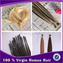 2015 New Products Velvet Remy Best Selling Eurasian i Tip Hair Extensions 1g Strand