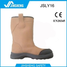 2015 CE steel toe Yellow protective safety boots new design army boots welding safety boots
