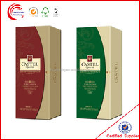 Gift boxes for wine glasses for Christmas wine promotion