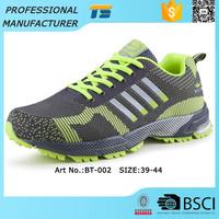 Breathable Flyknit Custom Men Sport Sneaker Brand