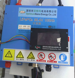 36v 100ah electrical vehicle lifepo4 battery pack