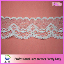 Wholesale Fashion Braid Lace Trim Wedding/Manufacturer Hot Embroidered Bridal Lace Trim/New White Stretch Lace Trim