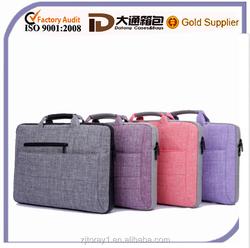 15.6 plain laptop carry case for business man