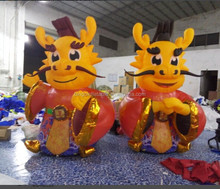 chinese culture decoration inflatable mascot Dragon King for outdoor display