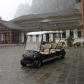 Plazas 8 coche eléctrico de golf en los emiratos árabes unidos( lt- a8)