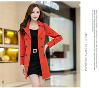 The new 2014 spring small suit han edition tide female fashionable joker ms cultivate one's morality show thin long sleeve coat