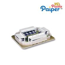 Manufactura de papel modelo de estadio de fútbol 2014 Copa del Mundo de las ideas regalos
