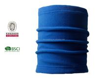 BSCI new design fleece neckerchief for girls