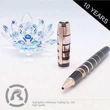 Wholesale Sign Custom Black Click Pens For Business Occasions