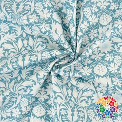 2016 New Arrival Beautiful Blue White Fashion Table Fabric 100% Cotton Fabric
