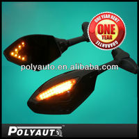 2013 Dual LED motorcycle rearview mirror