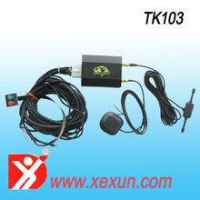 TK103 sim card vehicle gps tracker quad band tracking device IP tracking GPRS location