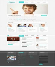 Neat and Clean Corporate Website Design with online Product Catalogue