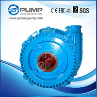 Low price long life high wear resistance gravel,mud,solid sand slurry pump use for sewage water treatment, dredging