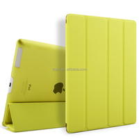 For smooth pattern leather case for ipad 3 custom case