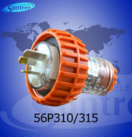 56P315 electric 15A SAA 3 flat pins plug