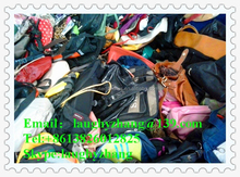 guangzhou manufacturer mix leather bags used for sale,female leather used handbags