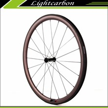 700c Wheels 38mm Carbon Wheel Set for Road Bike for Sale, Carbon Titanium Clincher Wheelset with Free Shipping