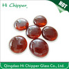 Red Glass Gems round shape for fire pit glass