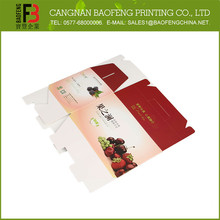 Popular Use Decorative Factory Price Wine Paper Box