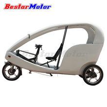 Battery powered electric passenger tricycle of citycruiser