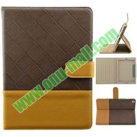 Diamond Pattern Leather Material for Apple iPad Air Bling Case