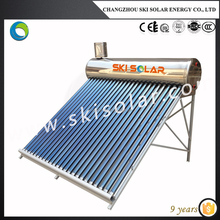 2015 hot sales solar water heater,solar boiler (China factory & manufacturing) Used in Bathroom for European Market.