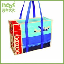 High Quality China Supplier Laminated PP Woven shopping Bag with handle