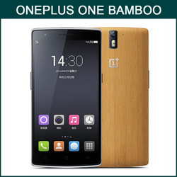 Alibaba China Bamboo Style 64GB Quad Core 5.5 Inch 4G LTE China Smartphone One Plus One Phone