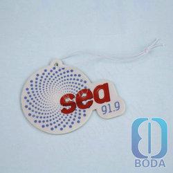 customized cotton paper designer fragrance car air freshener